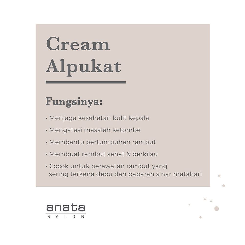 Creambath Treatment Anata Salon Bandung Most Popular Hair Beauty Skin Care