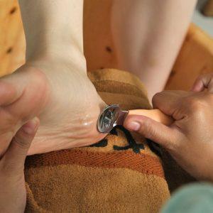 Amplas kulit telapak yang mengeras
