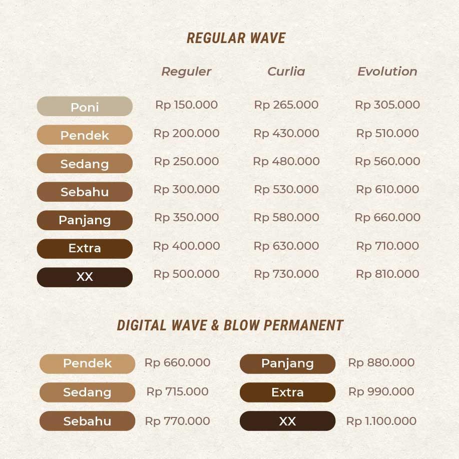 Wave Blow Permanen Anata Salon Bandung Most Popular Hair Beauty Skin Care